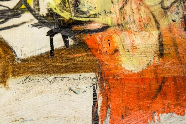 "Willem de Kooning ""Woman-Ochre"" Returned to UA Museum of Art"
