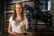 Jane Bambauer is a professor in the UA's James E. Rogers College of Law, whose research focuses on privacy law and big data.