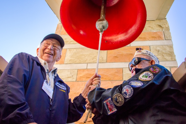 UA Hosts Two Survivors From USS Arizona